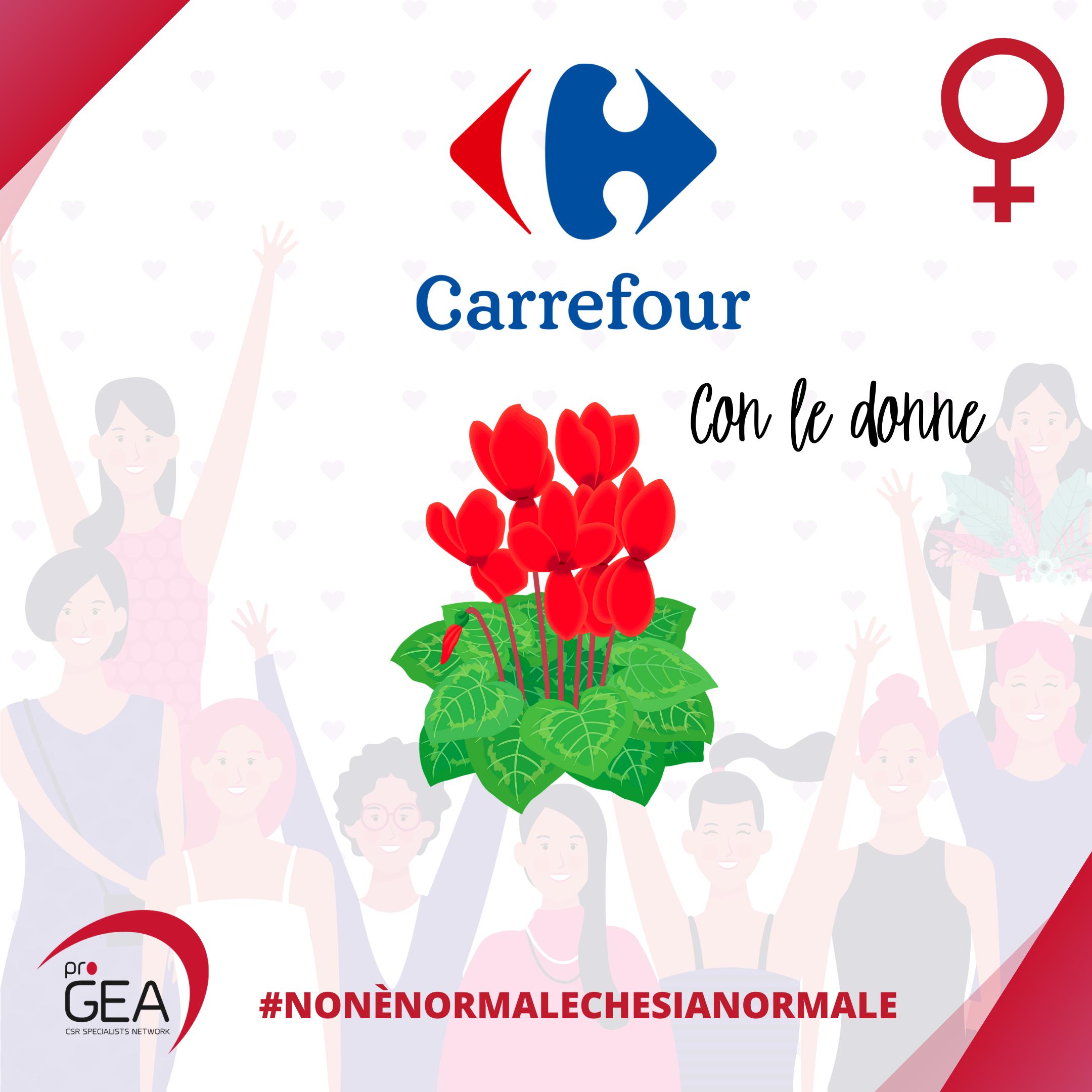 Carrefour contro la violenza sulle donne