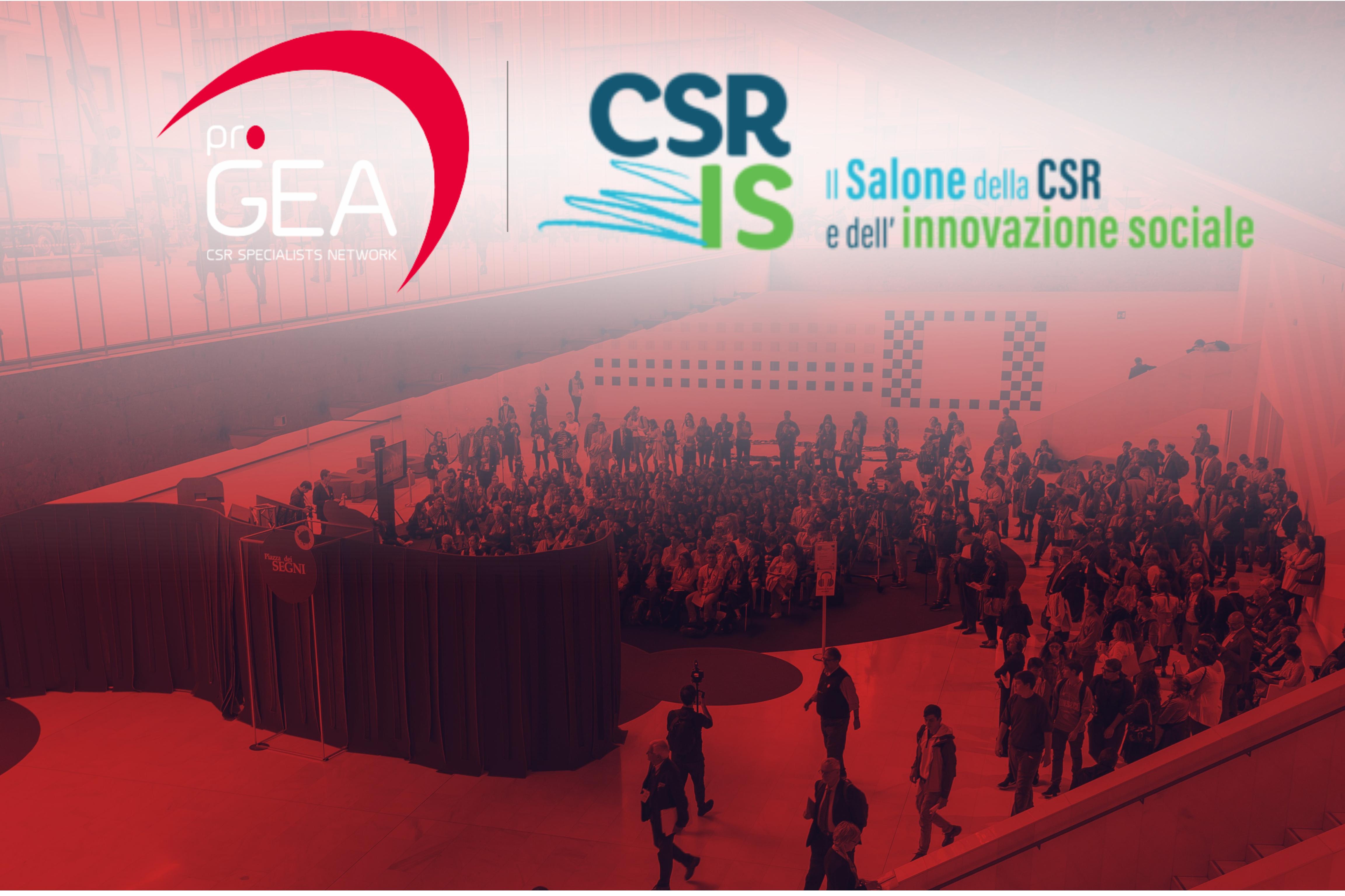 """""""Rinascere sostenibili""""- Il Salone della CSR"""